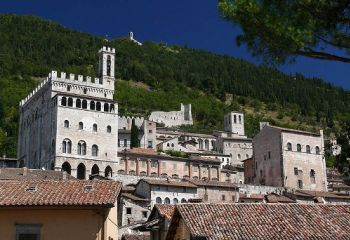 View of Comune di Gubbio, Italy